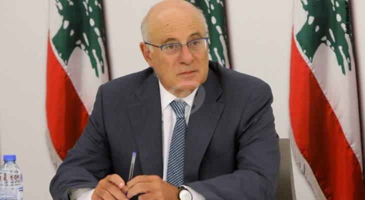 أبو سليمان: نأمل تأليف حكومة تنفذ الاصلاحات بأسرع وقت وإلا سيكون الوضع كارثيا