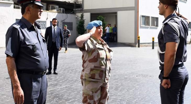 عثمان التقى رئيسة بعثة منظمة الأمم المتحدة لمراقبة الهدنة في لبنان