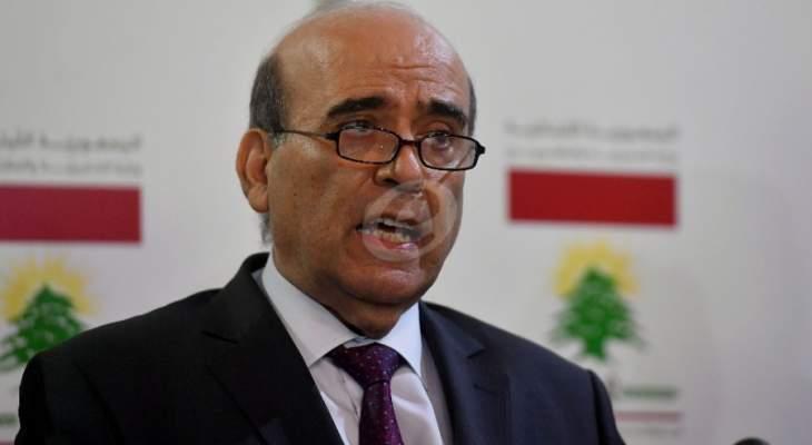 وهبه يلتقي السفير السوري للبحث في عدد من الملفات