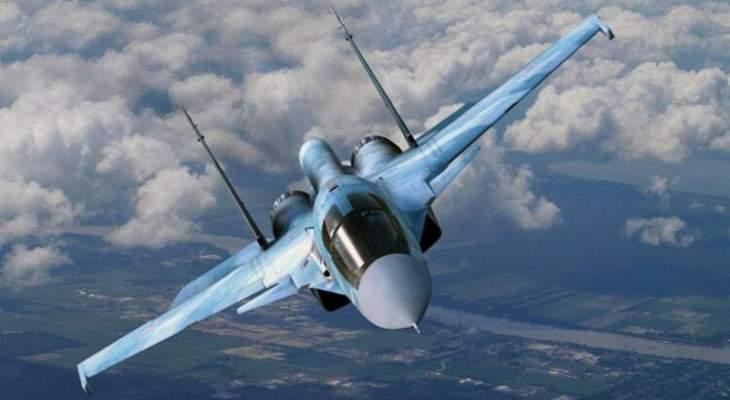 المرصد السوري: طائرات حربية روسية نفذت 74 غارة اليوم على باديتي الرصافة واثريا بريف حماة