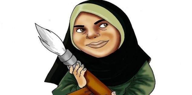 رسامة كاريكاتور سورية تتحدى القيود وترسم معاناة سكان إدلب