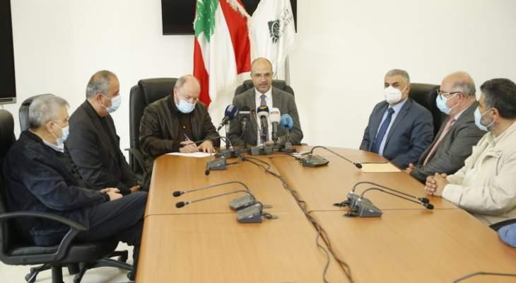 الأسمر زار حسن بحضور سنان: لا رفع للدعم عن الدواء ولا ترشيد إلا بخطة بديلة