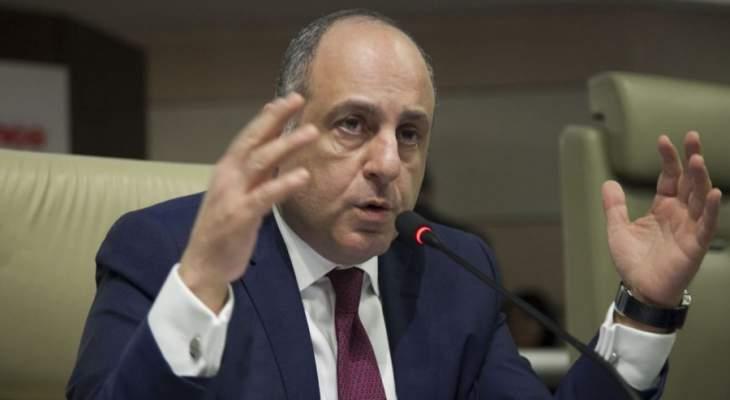بوعاصي: لبنان ليس بالف خير فالوضع الاقتصادي ليس سليما كما الوضع المؤسساتي والاجتماعي