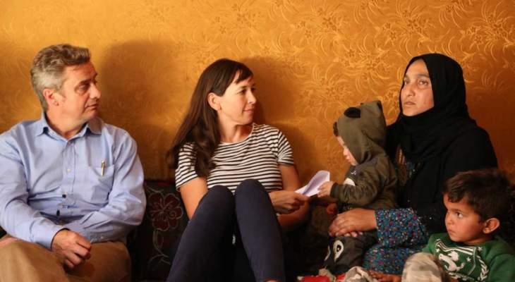 نائب رئيس وزارة التنمية الدولية البريطانية زار مشاريع ممولة من بلاده في لبنان