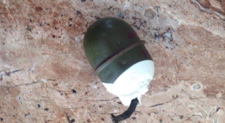إلقاء قنبلة يدوية في منطقة التبانة في طرابلس فجرا