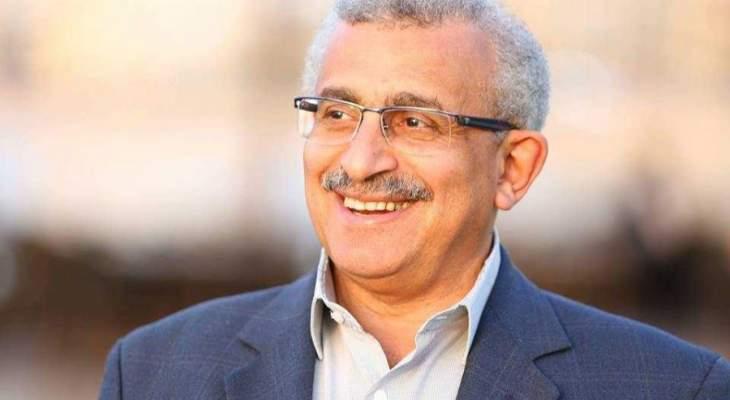 سعد طلب من المحتجين اعادة فتح الطريق الذي تم قطعه بشارع رياض الصلح بصيدا