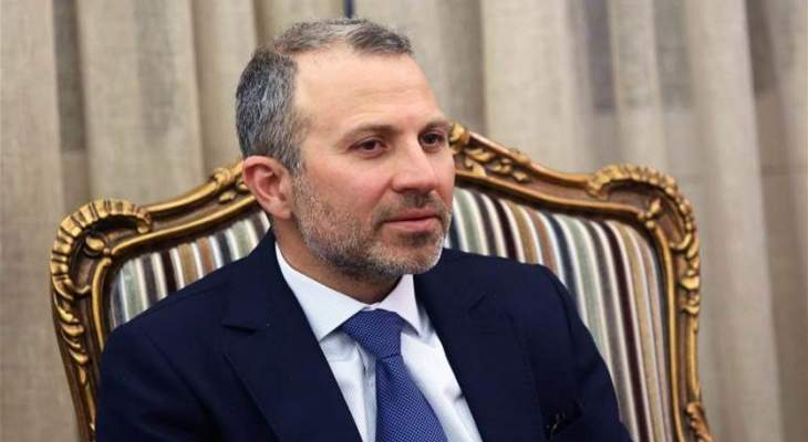 lbc: باسيل أجرى محادثات مع وزير الخارجية القبرصي بشأن ترسيم الحدود البحرية