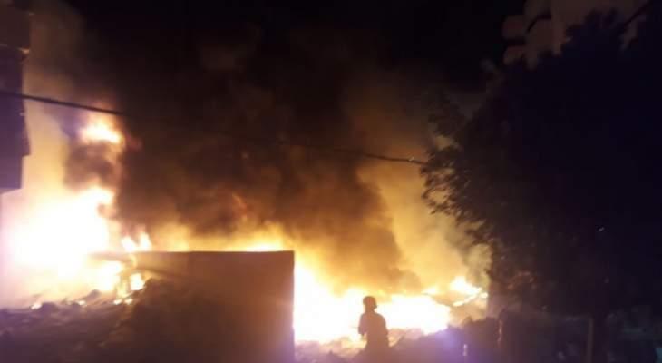 وفاة طفل بعد اشتعال النار بمنزل ذويه في بقاعصفرين بالضنية