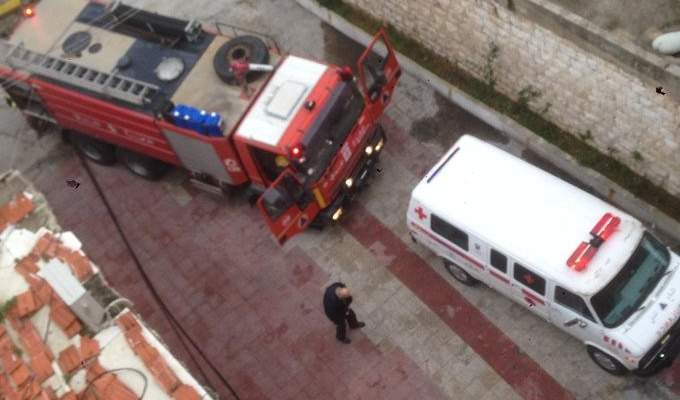 الدفاع المدني: إخماد حريق داخل شقة في ذوق مكايل