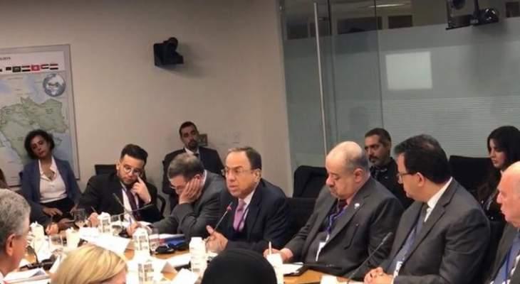 بطيش أكد العمل على إصلاح النظام الضريبي وإطلاق خطة الكهرباء وزيادة الإنتاج الوطني