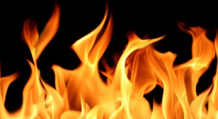 إخماد حريق اندلع في محول للكهرباء في منطقة البداوي