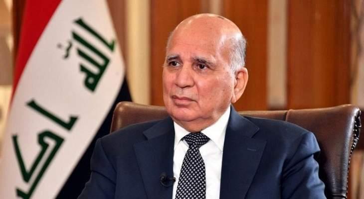 وزير الخارجية العراقية: لم نطلب إشرافا أمميا على الانتخابات ولا توجد مقاومة في العراق