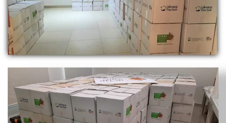 """جمعية """"من حقي الحياة"""" وزعت 600 حصة غذائية في قضاء جبيل"""