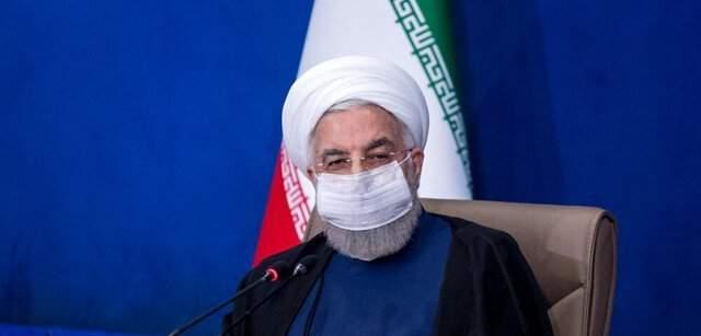 روحاني يعلن بدء تشغيل خط تصدير النفط من ميناء جاسك المطل على بحر عمان