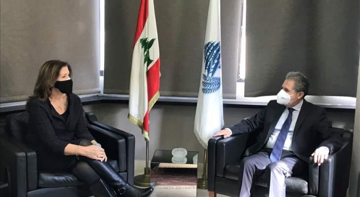 السفيرة الأميركية بعد لقائها وزني: نحاول مساعدة الشعب اللبناني على معالجة الاوضاع
