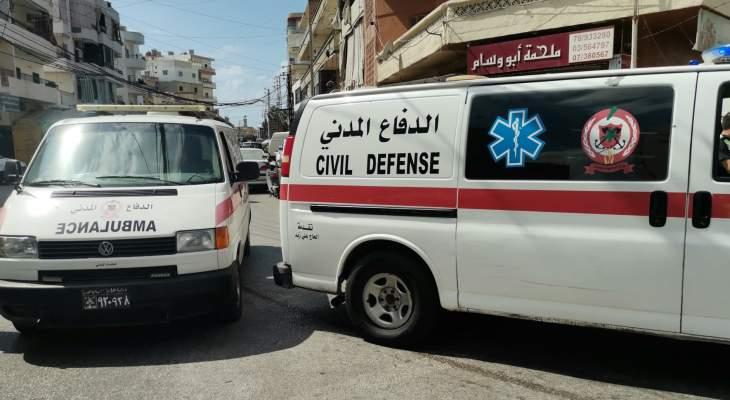 الدفاع المدني: جريحان جراء حادث سير عند مفترق طيردبا معركة في صور