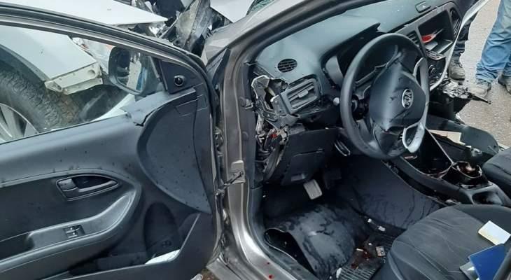 الدفاع المدني: أربعة جرحى جراء حادث سير في بتغرين- المتن