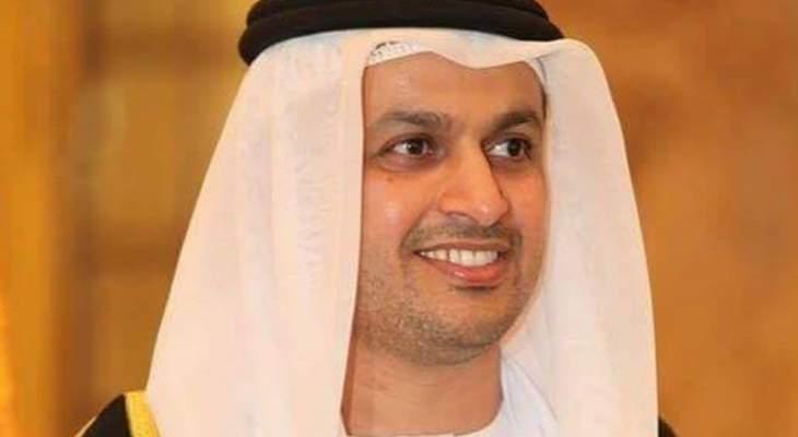 سفير الامارات اقام لقاء عن الدبلوماسية من اجل السلام وكرم عودة والشعار