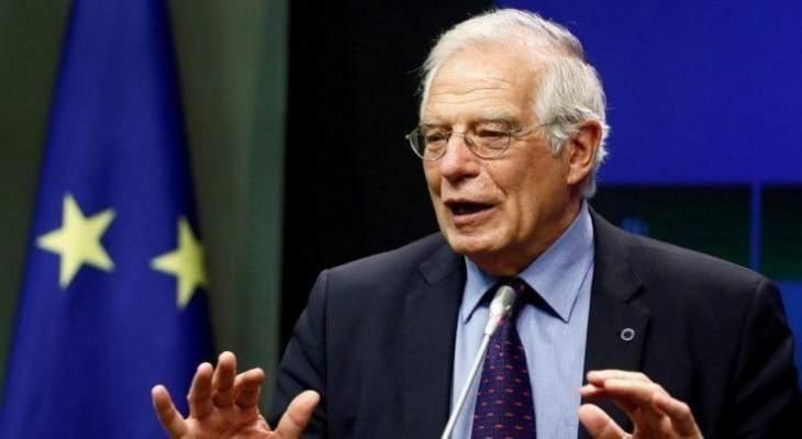 الممثل الاعلى للسياسة الخارجية في الاتحاد الأوروبي يصل إلى بيروت