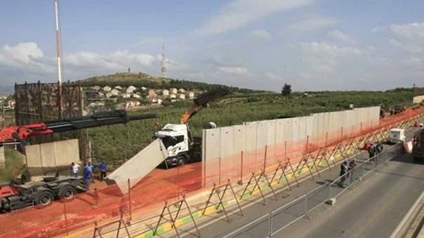 الجيش الإسرائيلي إٍستأنف الأعمال على الحدود مقابل بلدة كفركلا
