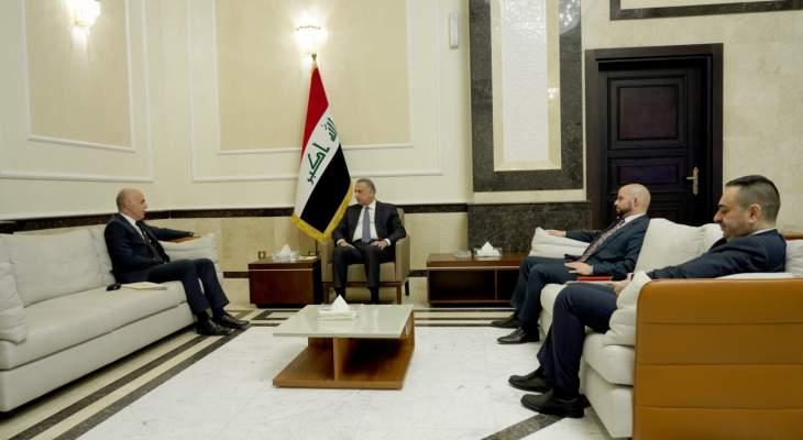 رئيس وزراء العراق بحث مع سفير تركيا في بغداد بالعلاقات الثنائية والتعاون المشترك