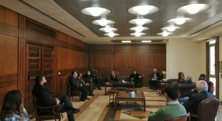 المراد: أصرينا على تشغيل المركز الصحي بنقابة محامي طرابلس لتوفير بدل المعاينة والأدوية على المحامي
