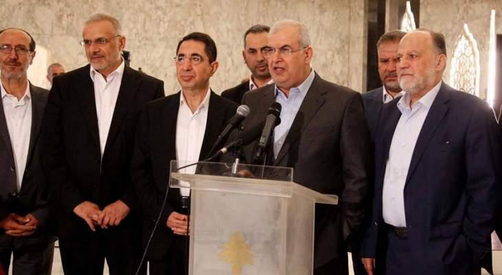 الوفاء للمقاومة:توقيت قرار إسرائيل بالتنقيب هو رسالة سياسية وأمنية تستدعي وقفة جريئة