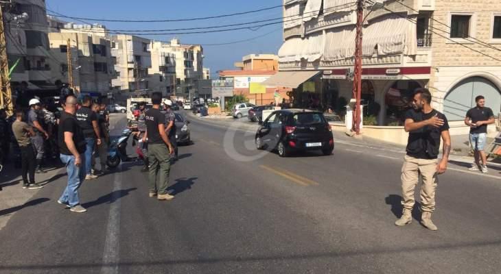 النشرة: حواجز مشتركة لبلدية حارة صيدا وقوى الامن لمنع الدراجات النارية