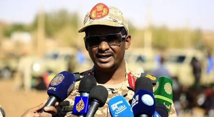 نائب رئيس المجلس العسكري السوداني: جاهزون لتسليم مجلس الوزراء اليوم قبل الغد