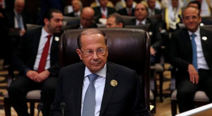 العرب يتهافتون على لبنان ويتوجسون منه