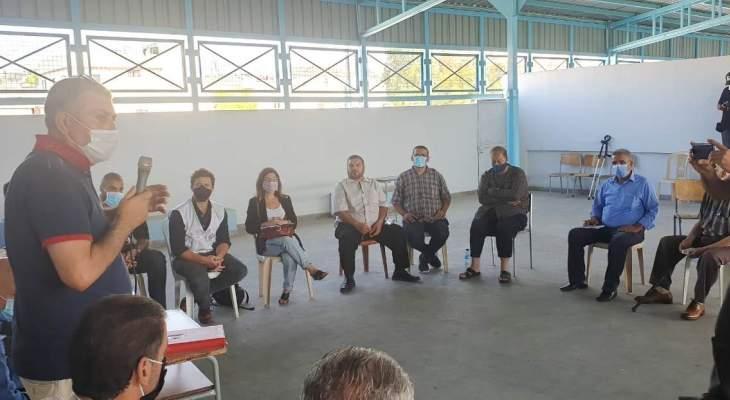 مدير الاونروا يحذر من كارثة صحية واغاثية وتربوية تطال المخيمات في لبنان قريبا
