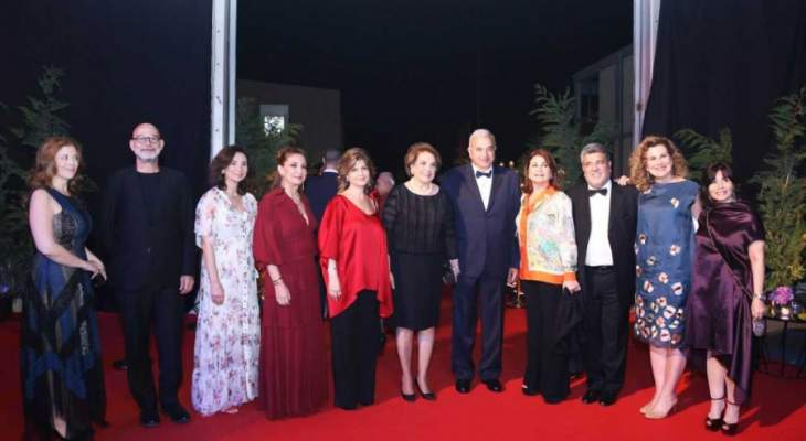 اللبنانية الاولى شاركت في العشاء السنوي لجمعية Heartbeat