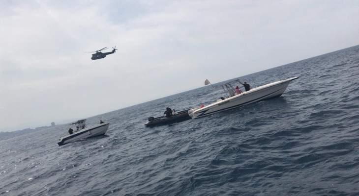 الدفاع المدني: البحث عن الطائرة يتركز حالياً ضمن دائرة واسعة على مسافة كلم واحد من شاطئ بلدة حالات