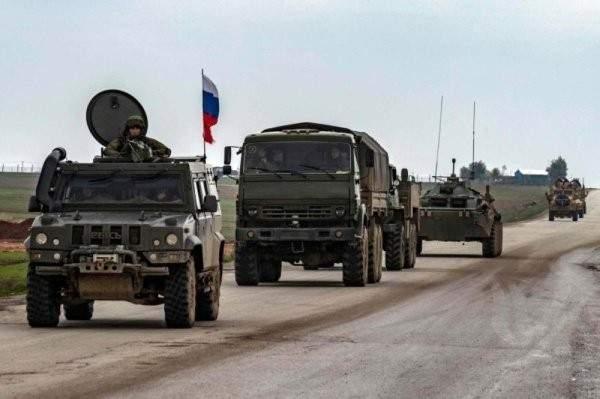 المصالحة الروسي:انتشار الشرطة العسكرية الروسية بمحيط آثار بصرى السورية