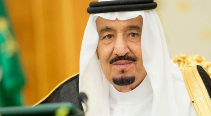 ملك السعودية التقى ولي عهد دبي ورئيس مجلس الأمة الكويتي