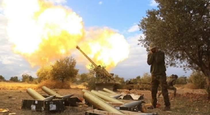 المرصد السوري: قتلى وجرحى باستهداف القوات الكردية لمواقع القوات التركية بريف حلب