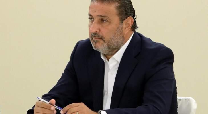 سعد: نريد معرفة موقف رئيس الجمهورية من تطاول المجلس الشيعي الأعلى على الراعي