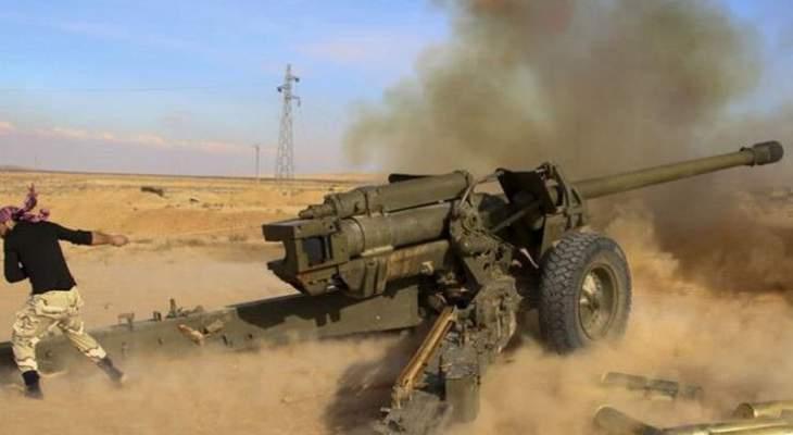 المرصد السوري: الفصائل استهدفت تجمعات قوات النظام السوري في سهل الغاب وريف إدلب