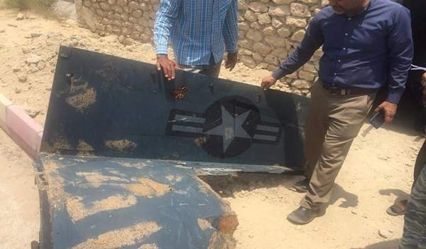 فارس: الحرس الثوري يعثر على اجزاء اخرى من حطام الطائرة الاميركية