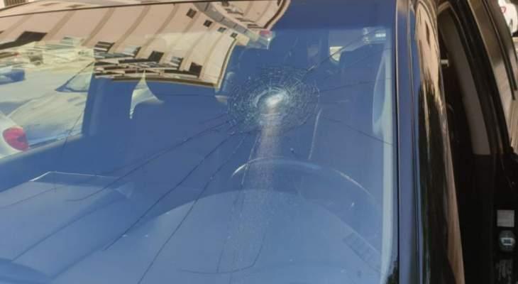 معلومات MTV: اعتداء على سيارة الوزيرة السابقة ندى بستاني