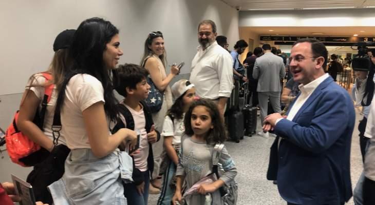 كيدانيان داوم بالمطار واطلع على سير الإجراءات لتسهيل أمور السياح والمسافرين