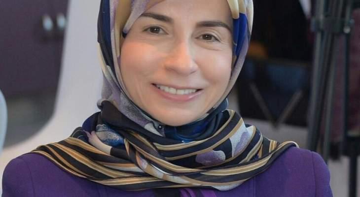 عزالدين استقبلت سفيرة الاتحاد الأوروبي: نأمل بموقف داعم لحقوقنا المائية والنفطية