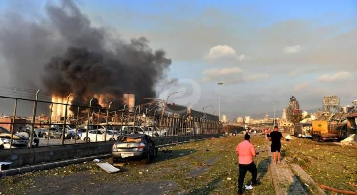 مستشفى تل شيحا: استقبلنا 12 اصابة من جرحى انفجار بيروت