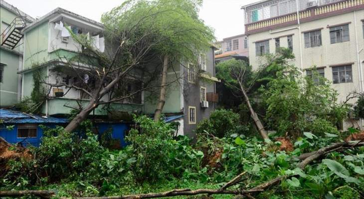 مقتل 6 أشخاص وإصابة 218 آخرون جراء إعصار بمدينة ووهان الصينية