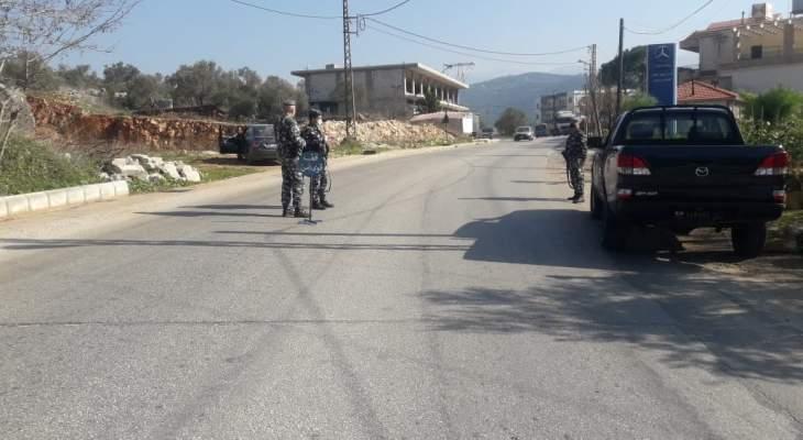 النشرة: دوريات أمنية مكثفة في حاصبيا لضمان حسن سير الالتزام بقرار التعبئة