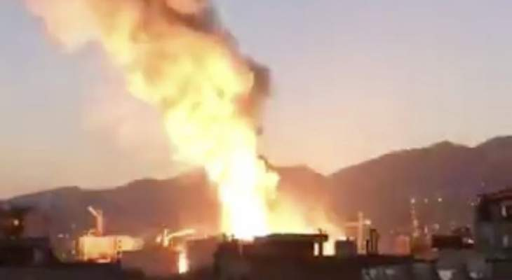 أنباء عن إنفجار في إيران شمال طهران ودخان كثيف يتصاعد من المكان