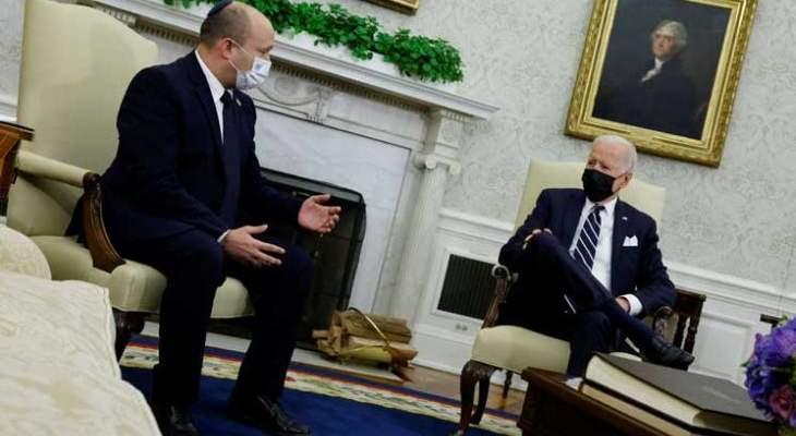 الإدارة الأميركية ترفض معادلة بينيت لإعمار غزة وتصمت عن التوسع الاستيطاني في الضفة