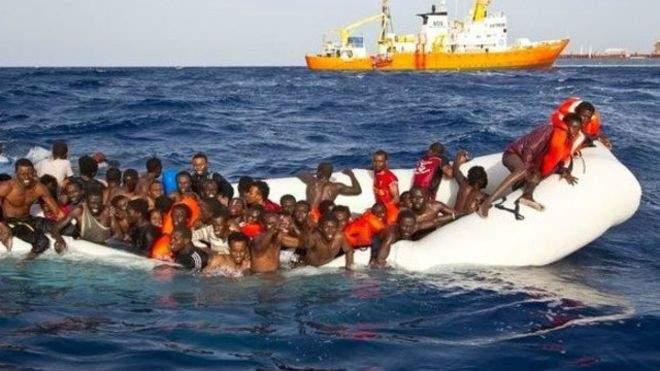 إنقاذ 400 مهاجر قبالة السواحل الليبية خلال 72 ساعة