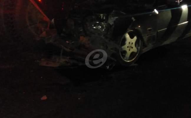 النشرة: قتيل و4 جرحى نتيجة حادث سير على طريق بعلبك مفرق مجدلون