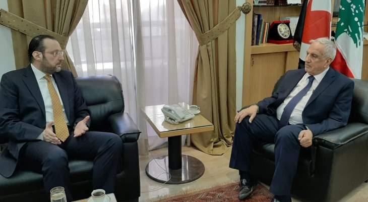 تقي الدين: لضرورة التواصل مع سوريا واستعادة العلاقات المميزة معها